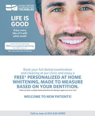 Whitening Promotion - Welcome to our new patients