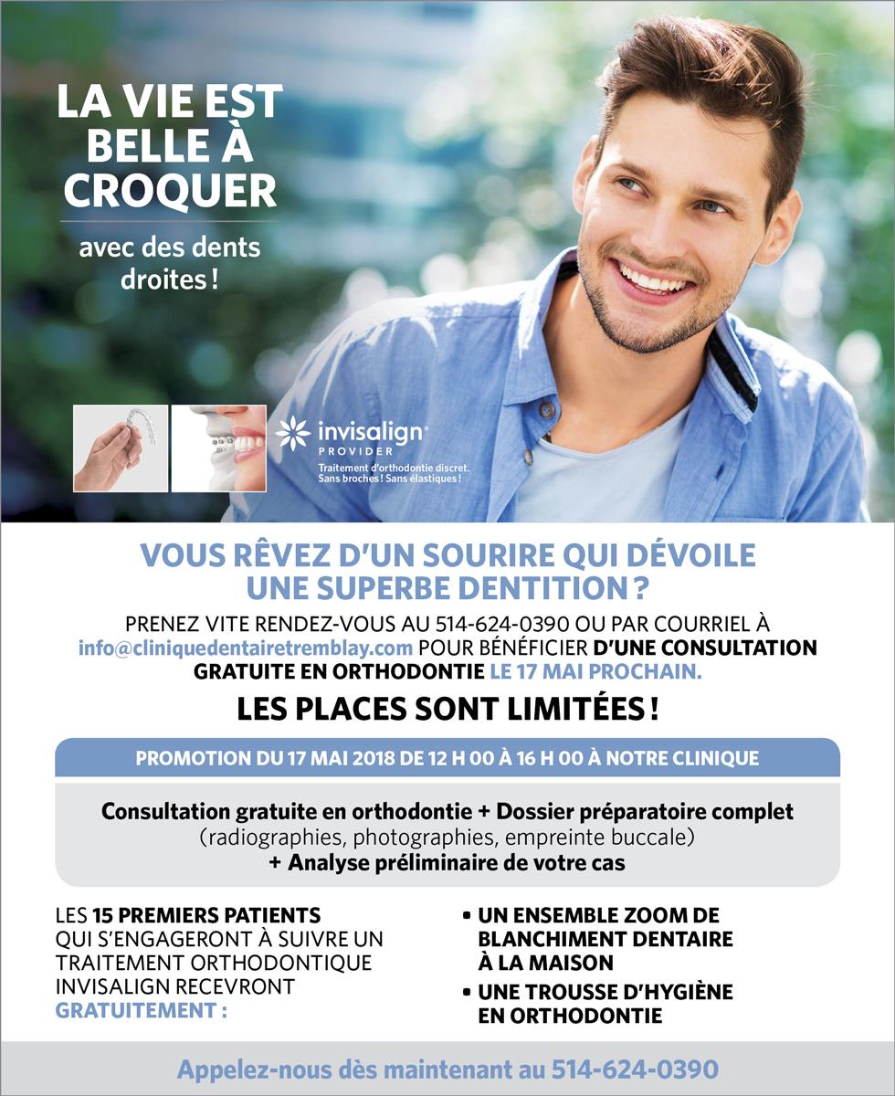 Consultation gratuite en orthodontie