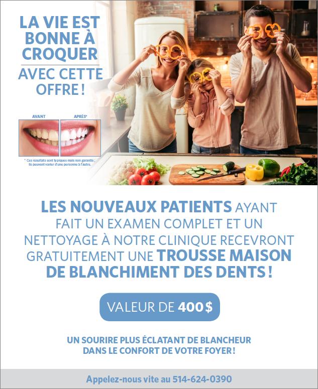 offre pour Nouveau patient