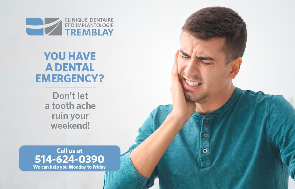 Dental emergencies in West Island Montreal